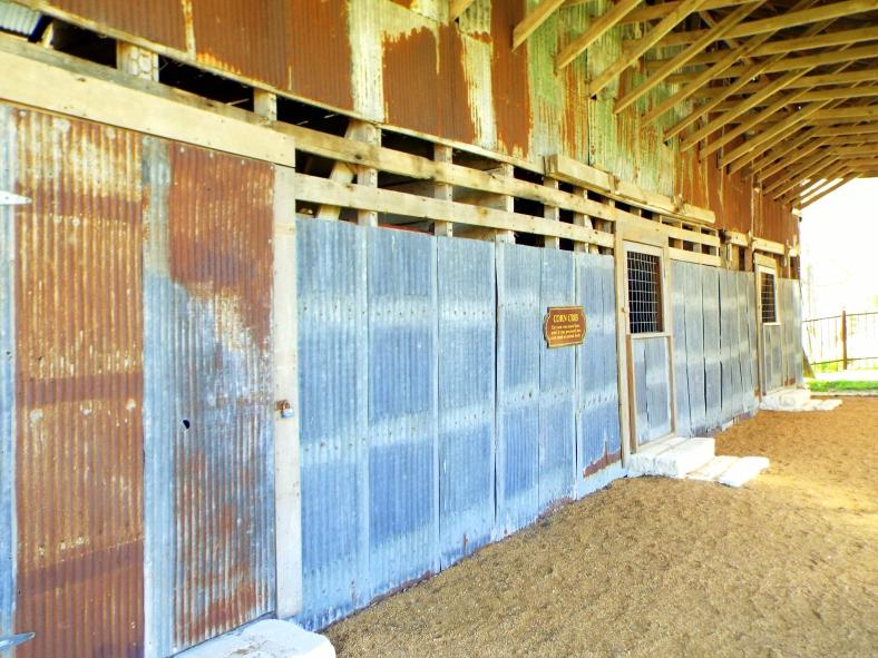 A barn wall